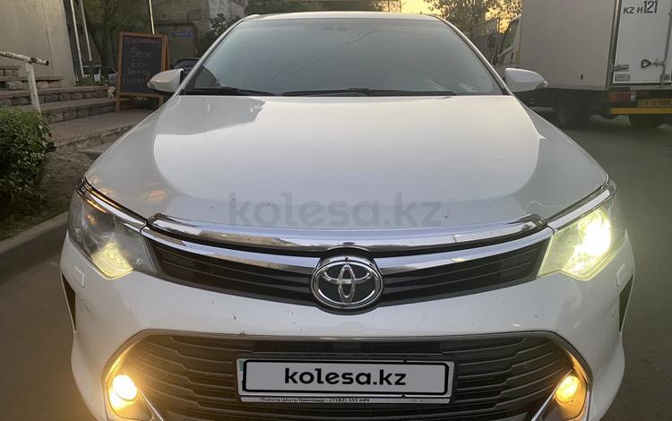Toyota Camry 2017 года за 10 500 000 тг. в Алматы