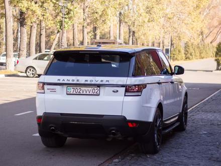 Land Rover Range Rover Sport 2014 года за 17 900 000 тг. в Алматы – фото 30
