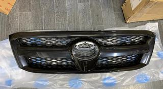 Решетка радиатора на Toyota Hilux Vigo 2005-2010 г. В. Черный… за 18 000 тг. в Алматы