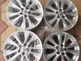 Литые (легкосплавные) диски R18 для Toyota за 140 000 тг. в Туркестан – фото 3