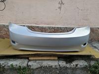 Задний бампер в цвет кузова Hyundai Accent 2011-2014 (серебристый) за 25 000 тг. в Караганда
