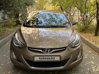 Hyundai Elantra 2014 года за 7 600 000 тг. в Алматы