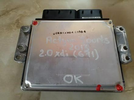 Блок управления двигателем Ssangyong за 150 000 тг. в Костанай – фото 3