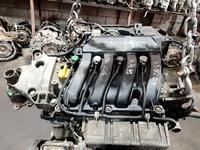 Двигатель на Рено K 4 M объём 1.6 с VVTI за 280 002 тг. в Алматы