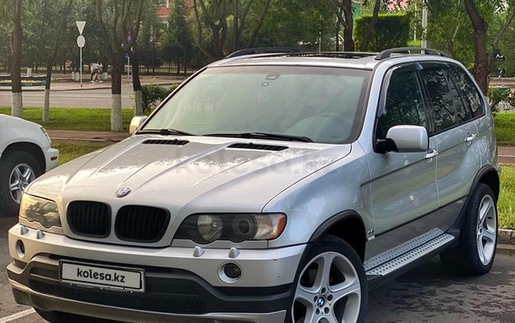 BMW X5 2002 года за 4 700 000 тг. в Нур-Султан (Астана)