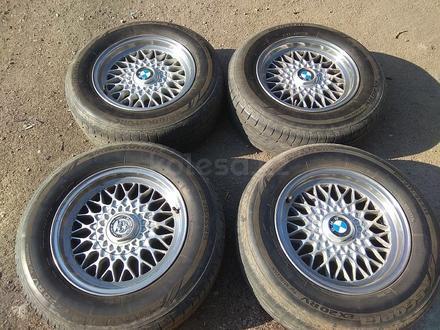 Легкосплавные диски на BMW 5 e34 (Германия R15 5*120 ЦО72.6 7J за 120 000 тг. в Нур-Султан (Астана) – фото 2