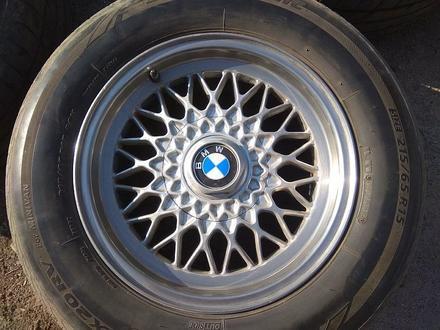 Легкосплавные диски на BMW 5 e34 (Германия R15 5*120 ЦО72.6 7J за 120 000 тг. в Нур-Султан (Астана) – фото 3