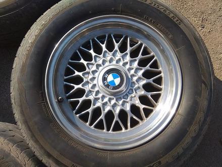 Легкосплавные диски на BMW 5 e34 (Германия R15 5*120 ЦО72.6 7J за 120 000 тг. в Нур-Султан (Астана) – фото 4