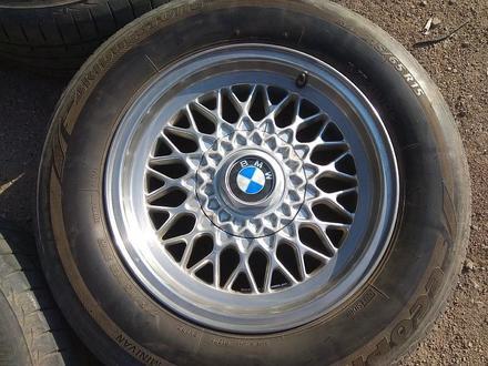 Легкосплавные диски на BMW 5 e34 (Германия R15 5*120 ЦО72.6 7J за 120 000 тг. в Нур-Султан (Астана) – фото 5