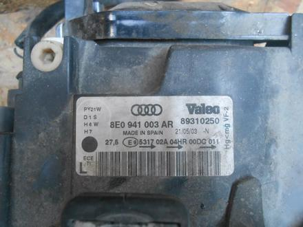 Фары передние ксенон комплект Audi a4 b6 за 100 000 тг. в Алматы – фото 3
