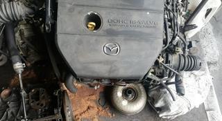 Мазда 6 двигатель каропка за 250 тг. в Алматы