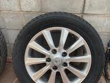 4 зимние шины с 5 дисками на Lexus LX570 за 530 000 тг. в Алматы – фото 5