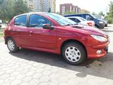 Peugeot 206 2007 года за 1 650 000 тг. в Костанай – фото 3