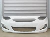 Бампер передний белый крашенный за 30 000 тг. в Шымкент