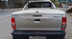 Крышка багажника с дугой на хайлюкс дизель 2011-15гг за 400 000 тг. в Алматы – фото 2