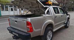 Крышка багажника с дугой на хайлюкс дизель 2011-15гг за 400 000 тг. в Алматы – фото 4