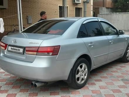 Hyundai Sonata 2007 года за 2 700 000 тг. в Талдыкорган – фото 4