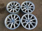 Оригинальные легкосплавные диски на автомашину BMW 3 (41 стиль Герм за 80 000 тг. в Нур-Султан (Астана) – фото 2