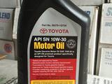 Моторное масло Toyota 10W-30 (оригинал США) за 2 000 тг. в Алматы – фото 2