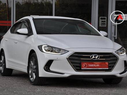 Hyundai Elantra 2018 года за 9 050 000 тг. в Шымкент