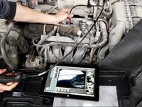 Эндоскопия двигателя, эндоскоп, омсотр авто толщиномером, диагностика в Караганда