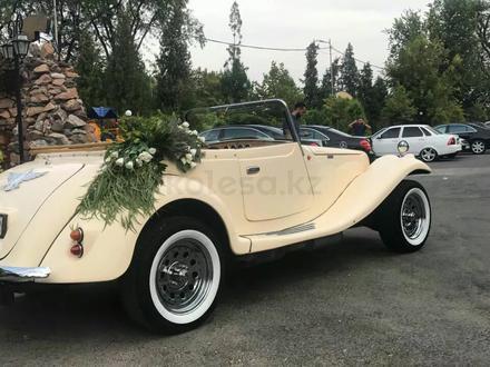 Аренда мерседеса 1933г. Эксклюзивный кабриолет для любых мероприятий в Алматы – фото 4