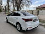 Hyundai Accent 2018 года за 6 700 000 тг. в Тараз – фото 3