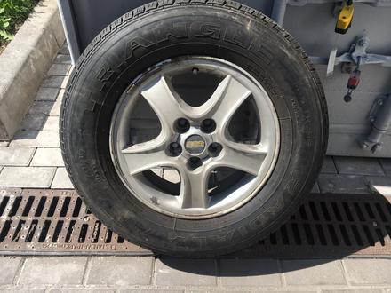 Диски с летними шинами на Hyundai 225/70 R16 за 80 000 тг. в Алматы