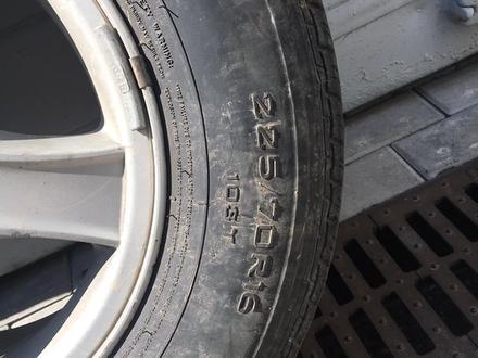 Диски с летними шинами на Hyundai 225/70 R16 за 80 000 тг. в Алматы – фото 5