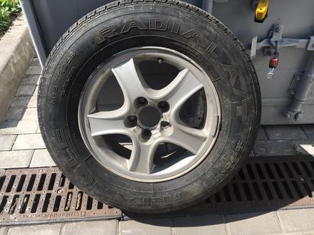 Диски с летними шинами на Hyundai 225/70 R16 за 80 000 тг. в Алматы – фото 6