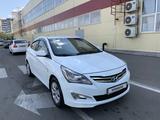 Hyundai Solaris 2014 года за 4 550 000 тг. в Шымкент – фото 4