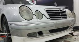 Тюнинг накладка на бампер Brabus для w210 Mercedes Benz рестайл за 20 000 тг. в Алматы