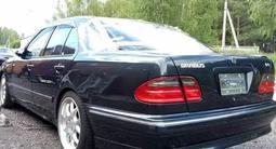 Тюнинг накладка на бампер Brabus для w210 Mercedes Benz рестайл за 20 000 тг. в Алматы – фото 2