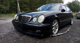 Тюнинг накладка на бампер Brabus для w210 Mercedes Benz рестайл за 20 000 тг. в Алматы – фото 3