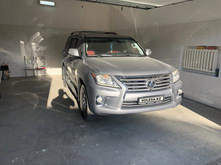 Lexus LX 570 2012 года за 23 000 000 тг. в Кызылорда – фото 2
