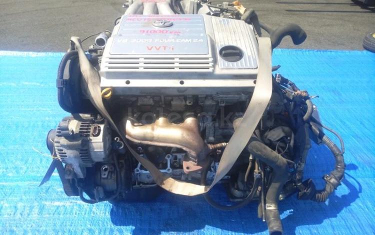 Мотор Коробка 1mz-fe Двигатель Lexus rx300 (лексус рх300) Двигатель Lexus… за 76 580 тг. в Алматы