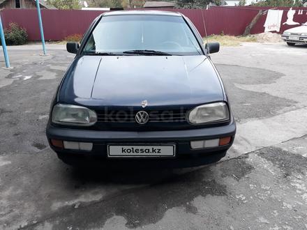 Volkswagen Golf 1992 года за 1 230 000 тг. в Есик – фото 3