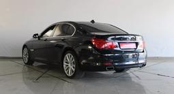BMW 740 2010 года за 10 834 595 тг. в Шымкент – фото 2