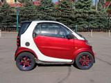 Smart ForTwo 2001 года за 1 850 000 тг. в Алматы – фото 2
