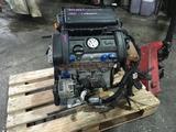 Двигатель BUD Volkswagen Polo 1, 4 л 80 л. С за 305 000 тг. в Челябинск – фото 3