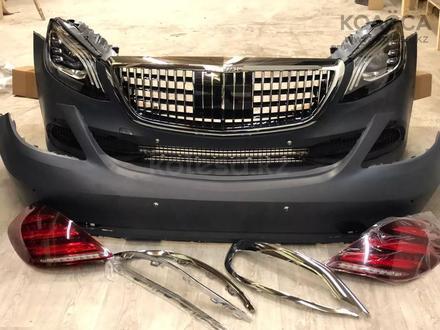 Полный рестайлинг Mercedes-Benz w222 Maybach 2018 + за 5 500 тг. в Алматы – фото 2