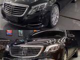 Полный рестайлинг Mercedes-Benz w222 Maybach 2018 + за 2 100 000 тг. в Алматы – фото 4