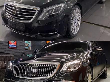 Полный рестайлинг Mercedes-Benz w222 Maybach 2018 + за 5 500 тг. в Алматы – фото 4