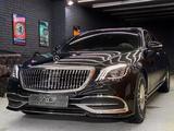 Полный рестайлинг Mercedes-Benz w222 Maybach 2018 + за 2 100 000 тг. в Алматы – фото 3