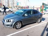 Chevrolet Aveo 2015 года за 3 800 000 тг. в Алматы – фото 2