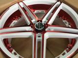 Комплект дисков от Rainbow Dance Allow Wheels в Астане за 160 000 тг. в Караганда – фото 2