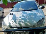 Peugeot 206 2001 года за 750 000 тг. в Актобе – фото 2