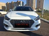 Hyundai Accent 2019 года за 6 950 000 тг. в Нур-Султан (Астана)
