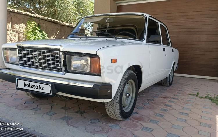 ВАЗ (Lada) 2107 2011 года за 1 500 000 тг. в Шымкент