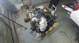 Двигатель в сборе yd25ddti nissan navara за 800 000 тг. в Атырау – фото 2